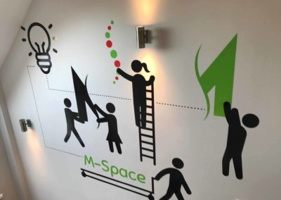 Local coworking hub, M-Space Malahide working together to build a community.